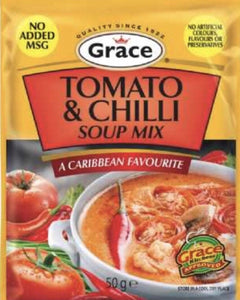 Grace Tomato and Chilli Soup Mix - Evansfoods