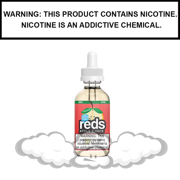 7 Daze Reds | Guava Iced - eJuice (60ml)