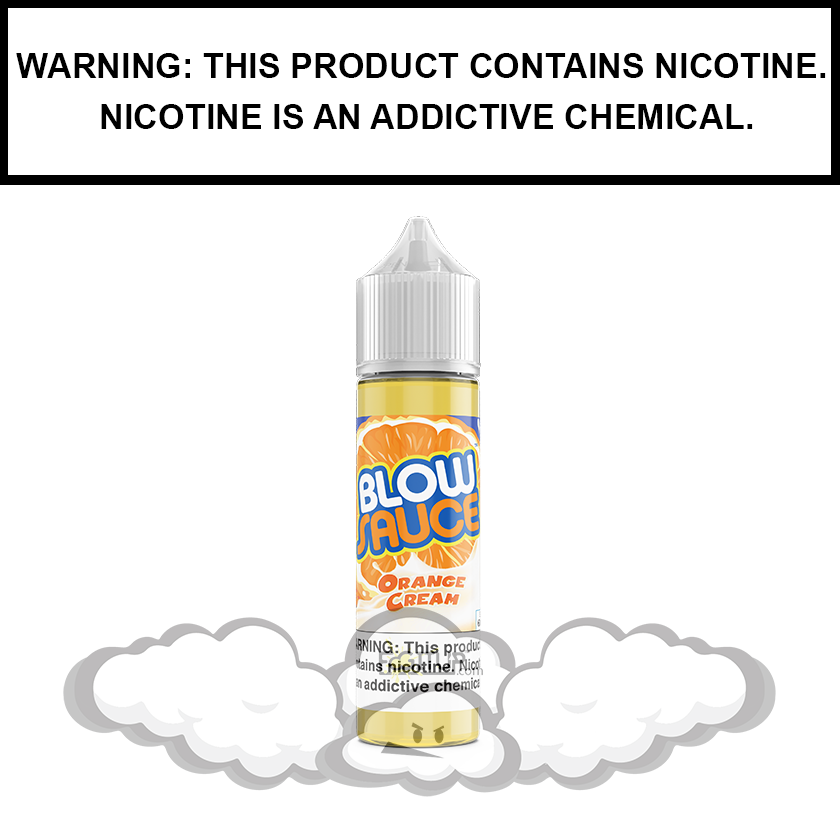 DripFire BlowSauce | Orange Vanilla Ice Cream - eJuice (60ml)
