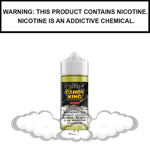 Candy King | Sour Worms - eJuice (100ml)