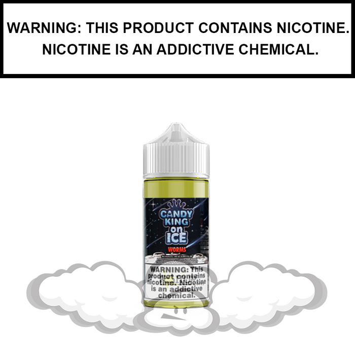 Candy King | Sour Worms on ICE - eJuice (100ml)