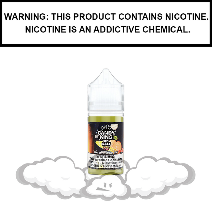 Candy King | Peachy Rings - Nic Salt eJuice (30ml)
