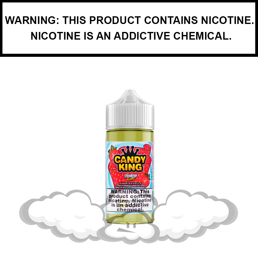 Candy King | Strawberry Rolls - eJuice (60ml)