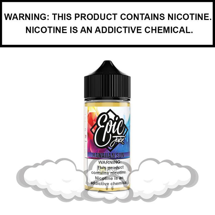 Epic Juice | Hawaiian Sun (Formerly Tiki) - Tropical Punch - eJuice (60ml&100ml)