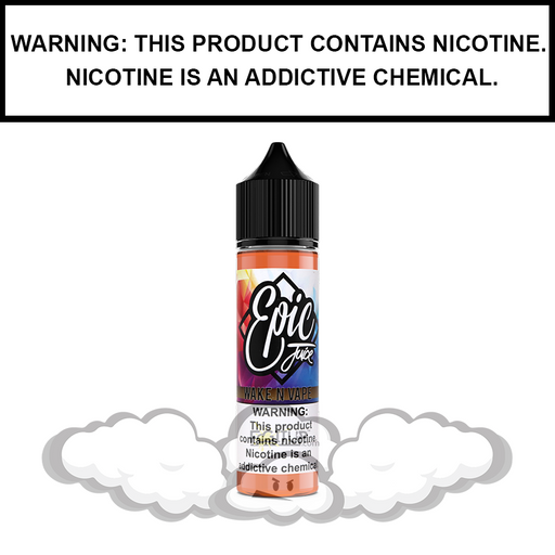 Epic Juice | Wake N Vape - Vanilla Coffee & Cream - eJuice (60ml&100ml)