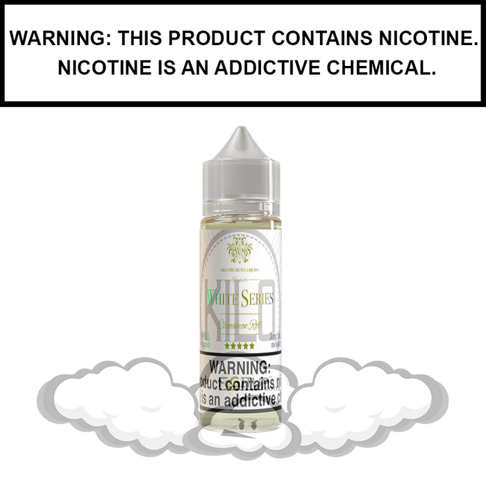 Kilo White Series | Cinnamon Roll - eJuice (60ml)