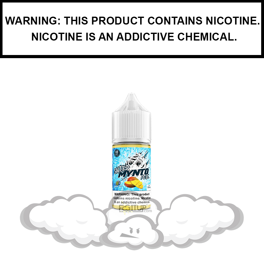 DripFire Mynto Ice | Mango - Nic Salt eJuice (30ml)