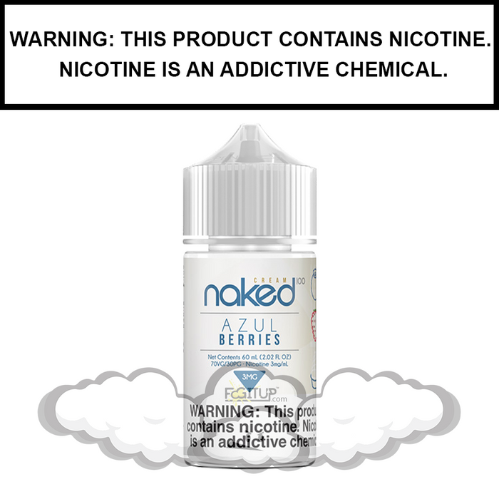 Naked 100 Cream | Azul Berries - eJuice (60ml)