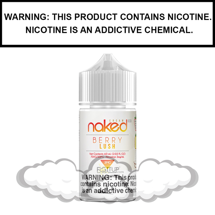 Naked 100 Cream | Berry Lush - eJuice (60ml)