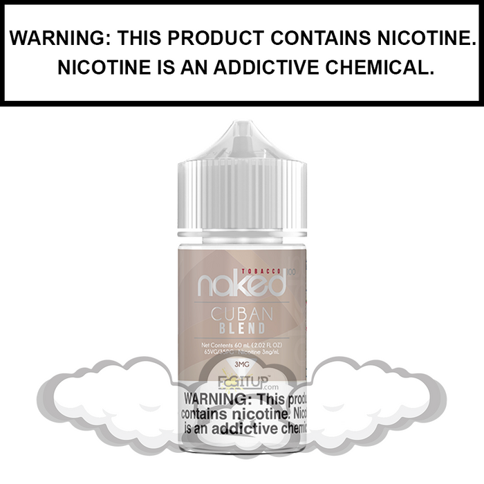 Naked 100 Tobacco | Cuban Blend - eJuice (30ml)