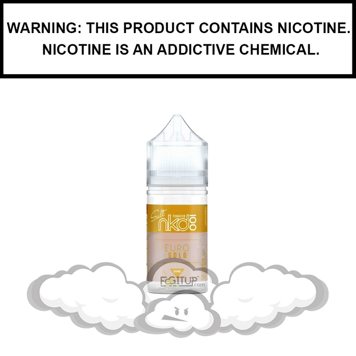 Naked 100 | Euro Gold Salt Nic - eJuice (30ml)