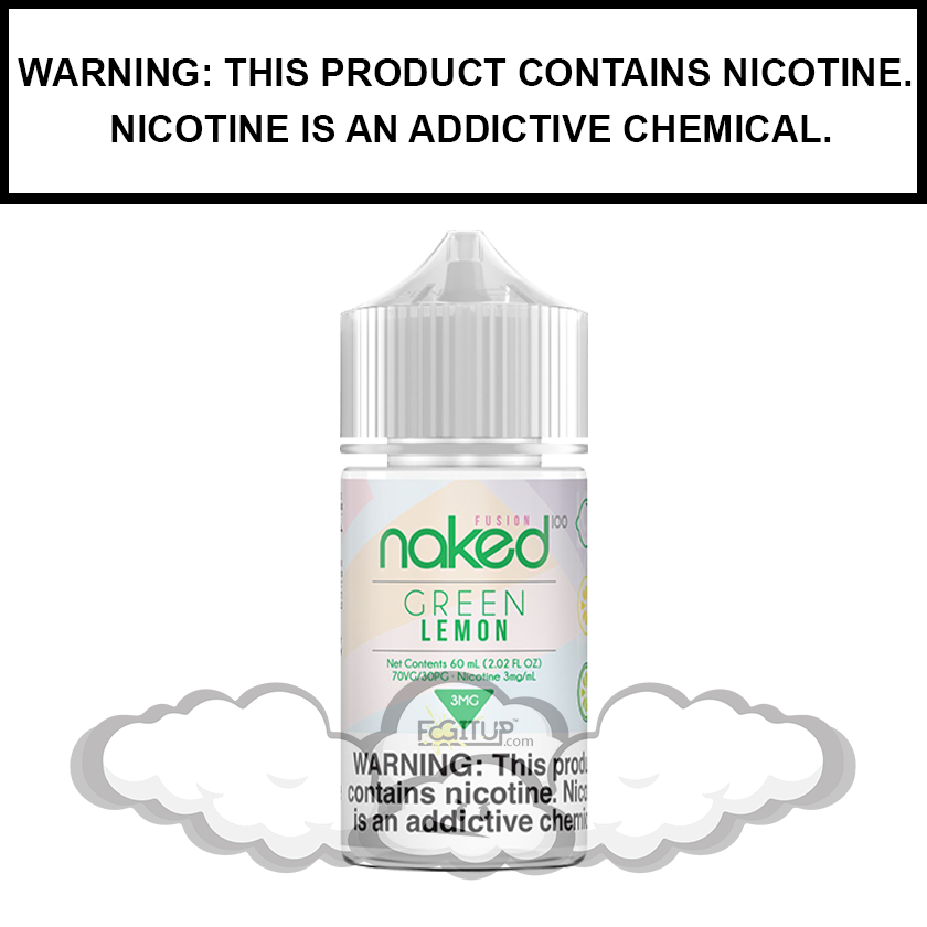 Naked 100 Fusion | Green Lemon (Formerly Sour Sweet) - eJuice (60ml)