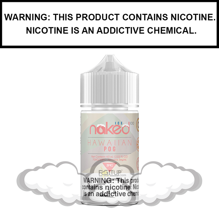 Naked 100 | Hawaiian POG ICE - eJuice (60ml)