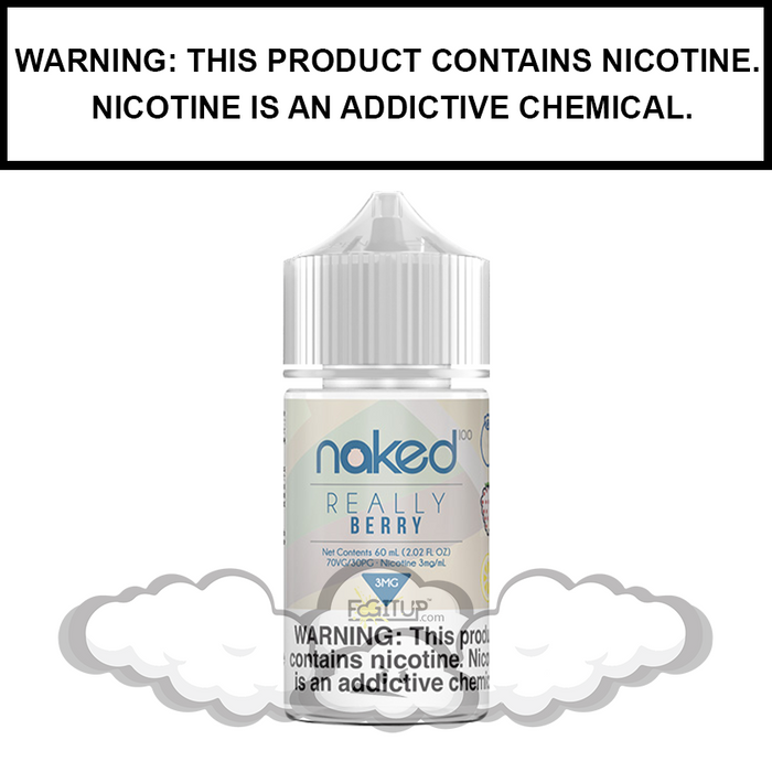 Naked 100 | Really Berry (Formerly Very Berry) - eJuice (60ml)