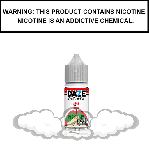 7 Daze Reds | Apple - Nic Salt eJuice (30ml)