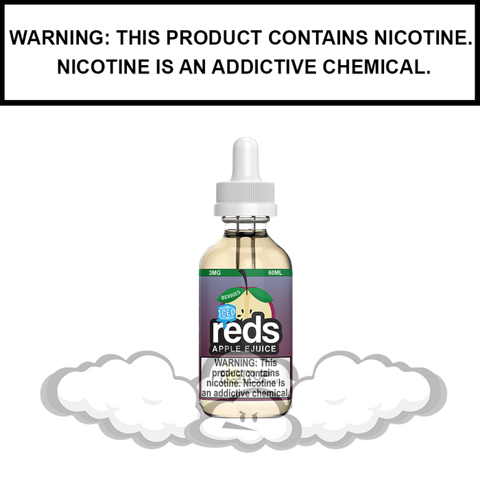 7 Daze Reds | Berries Iced - eJuice (60ml)