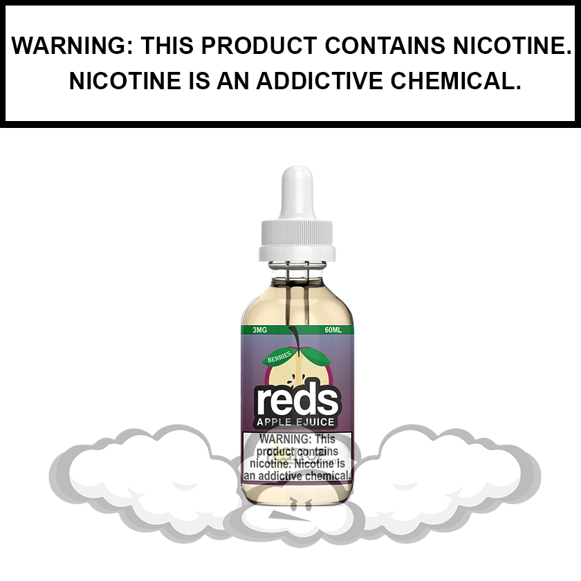 7 Daze Reds | Berries - eJuice (60ml)