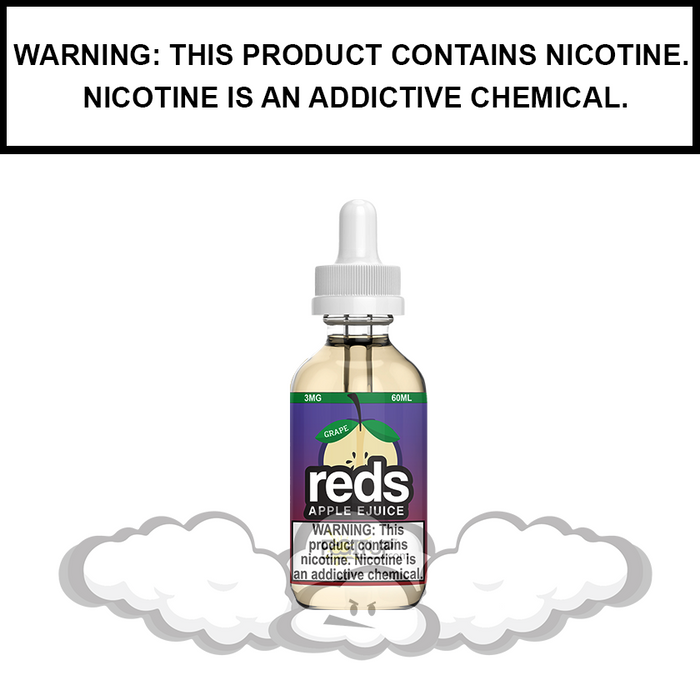 7 Daze Reds | Grape Apple - eJuice (60ml)
