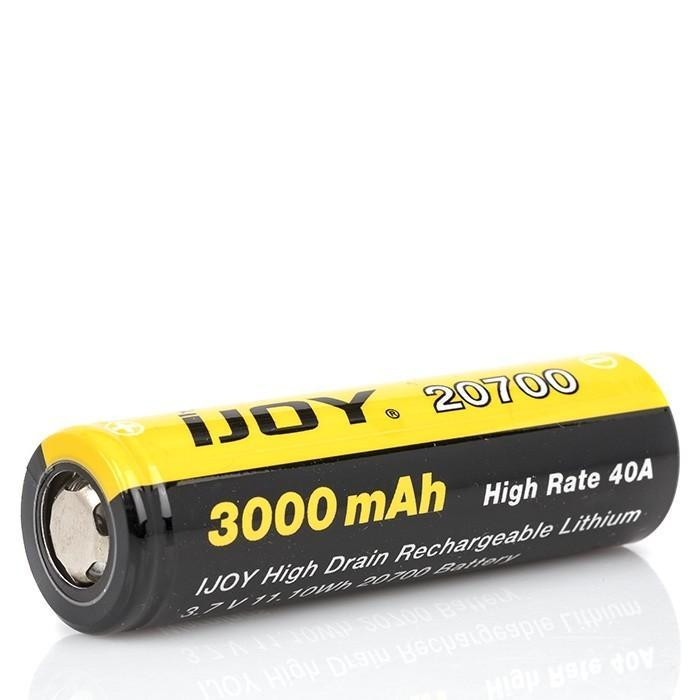 iJoy - 20700 Flat Top Battery - 3000mAh (2 Pack)