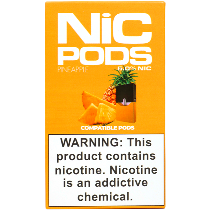 Nic Pods 50 mg Juul Compatible pineapple