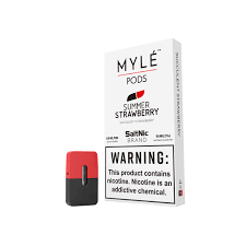 Myle Pods & Cartridges summer strawberry