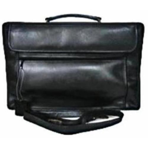 Leather Briefcase Double Compartment Messenger 49982