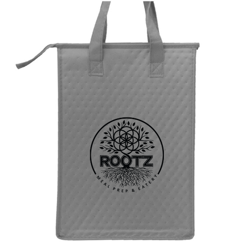 Rootz Insulated Grey Bag (Bring in your Rootz Bag for a 5% off your meal prep purchase.)