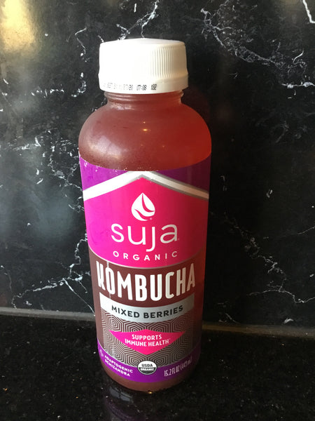 Suja Organic Kombucha Mixed Berries