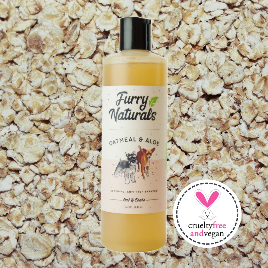 Dog Shampoo - Oatmeal & Aloe Dog Shampoo 16oz