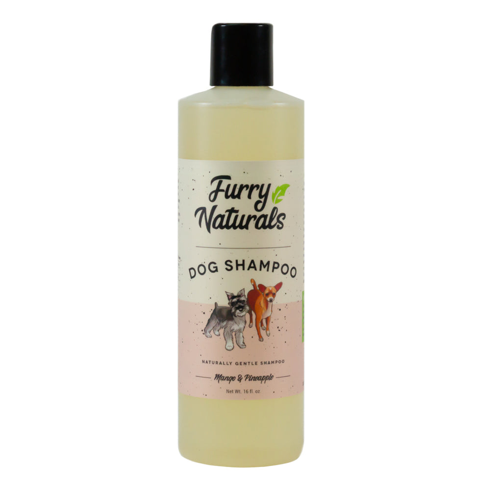 Furry Naturals Mango & Pineapple Dog Shampoo