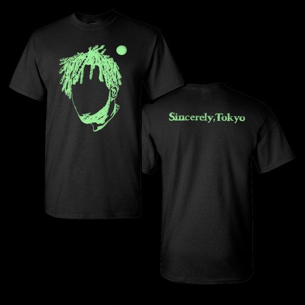 Black Silhouette Tee (Glow in the Dark Print)