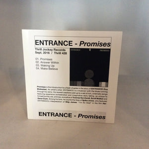 Entrance - Promises CD single