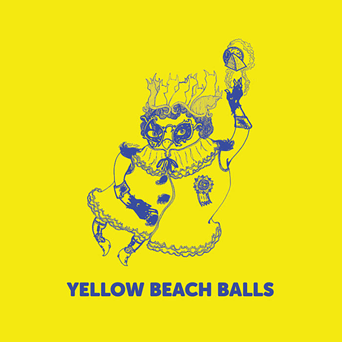 Yellow Beach Ball - Space Cat (vinyl)