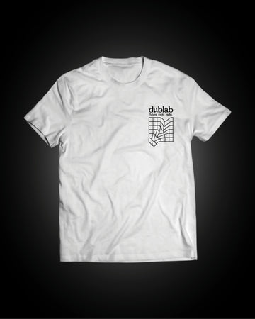 dublab grid pattern shirt