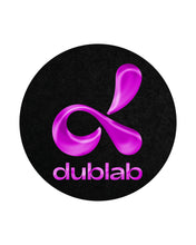 Load image into Gallery viewer, dublab slipmat by by Glowtronics