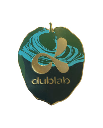 DUBLAB Enamel Pin Designed by Max Rippon