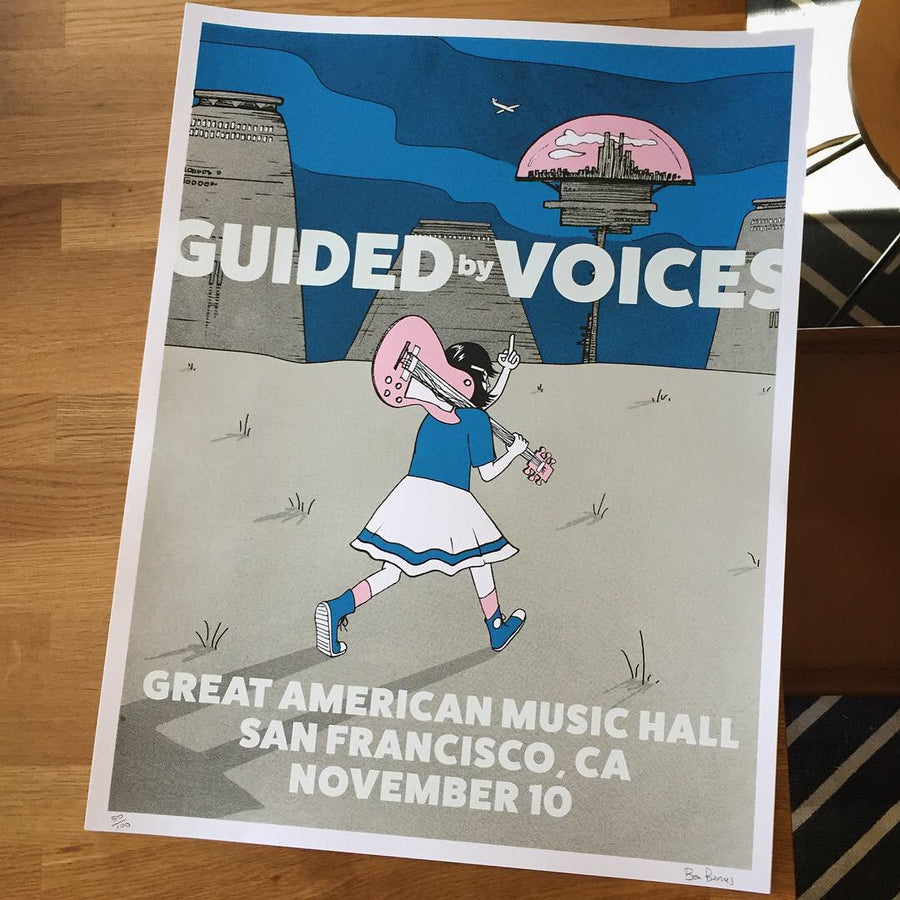 Guided By Voices Show Poster
