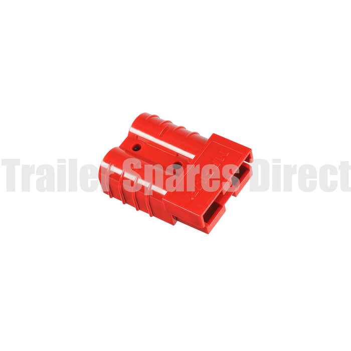 Heavy-duty 50amp red connector - Anderson-type plug