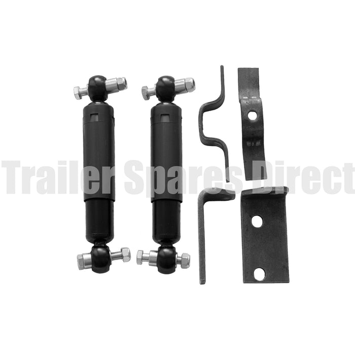Suspension shock absorber kit - 2 shocks and hardware