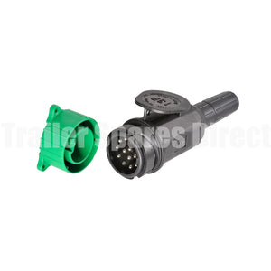 Narva 13 pin round trailer plug for European cars