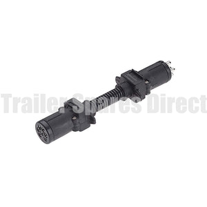 adapter 6 pin round socket - 7 pin small round plug