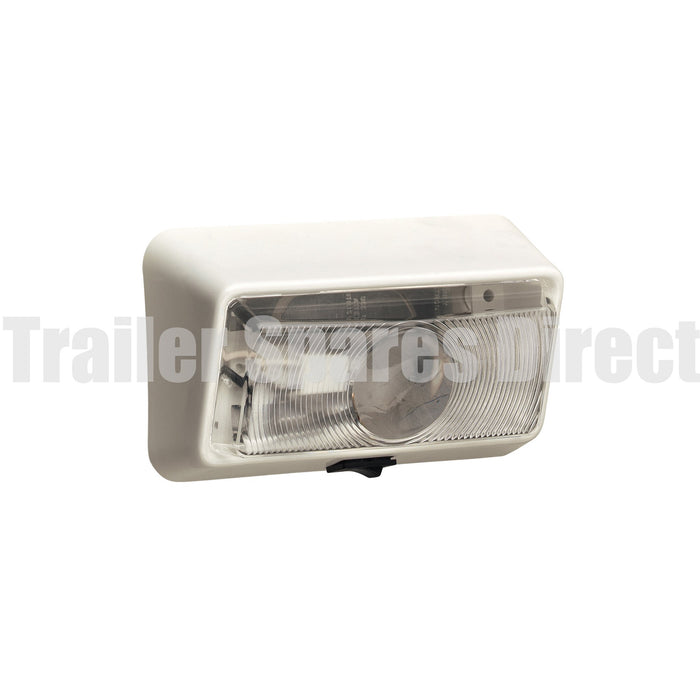 Narva Porch light 12 volt with on/off rocker switch