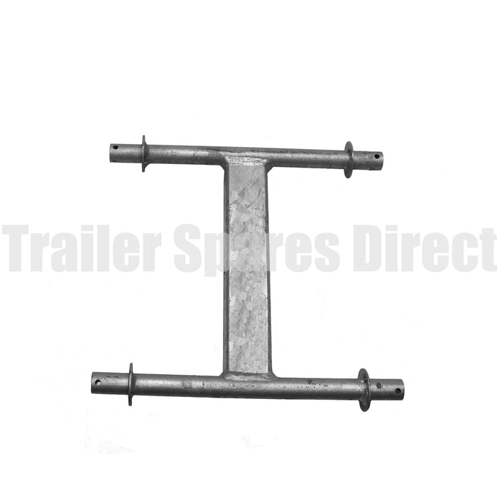 Quad wobble roller bracket galvanised
