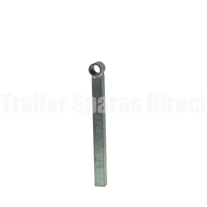 8 inch eye post suit 16mm pin galvanised