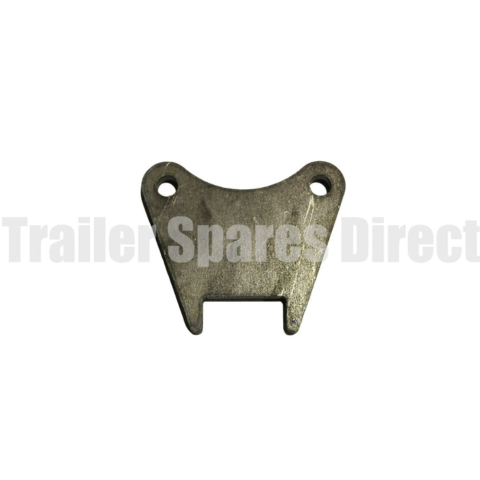 Weld-on mounting bracket for AL400 brake caliper for 12 inch disc - pick axle size