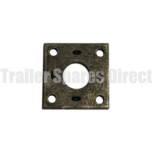 Drum mounting plate 40 round axle
