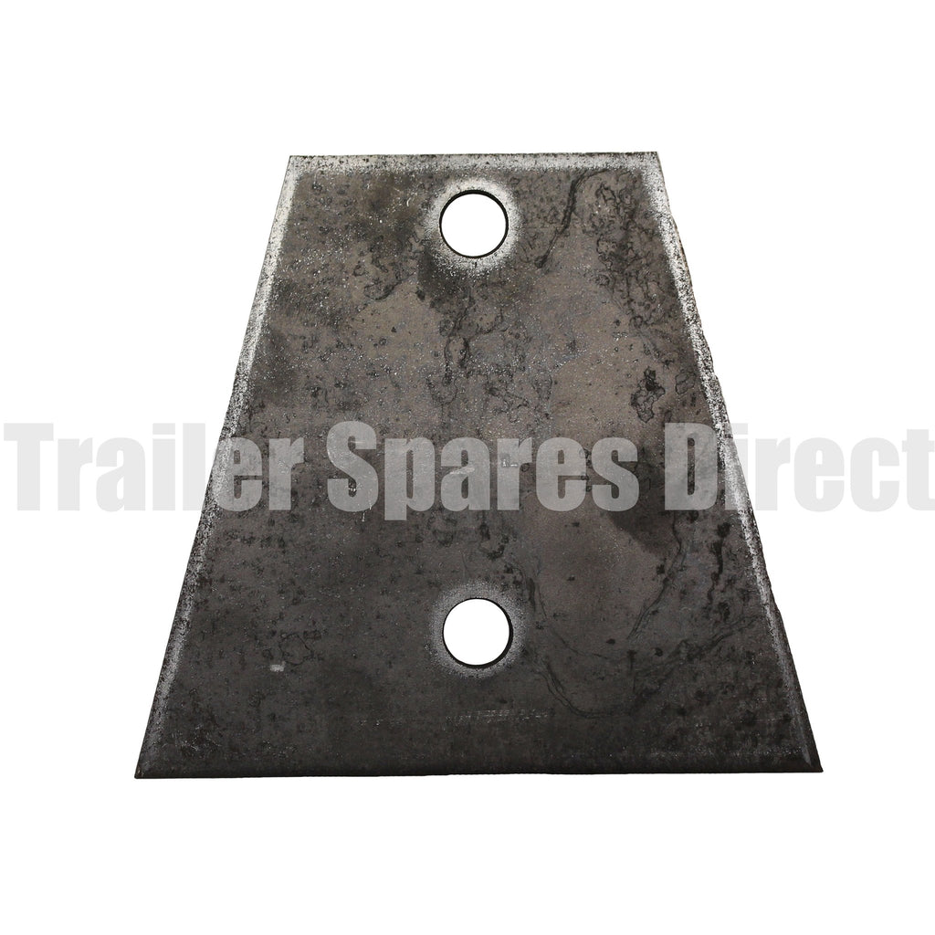 V shape coupling base plate 2 hole