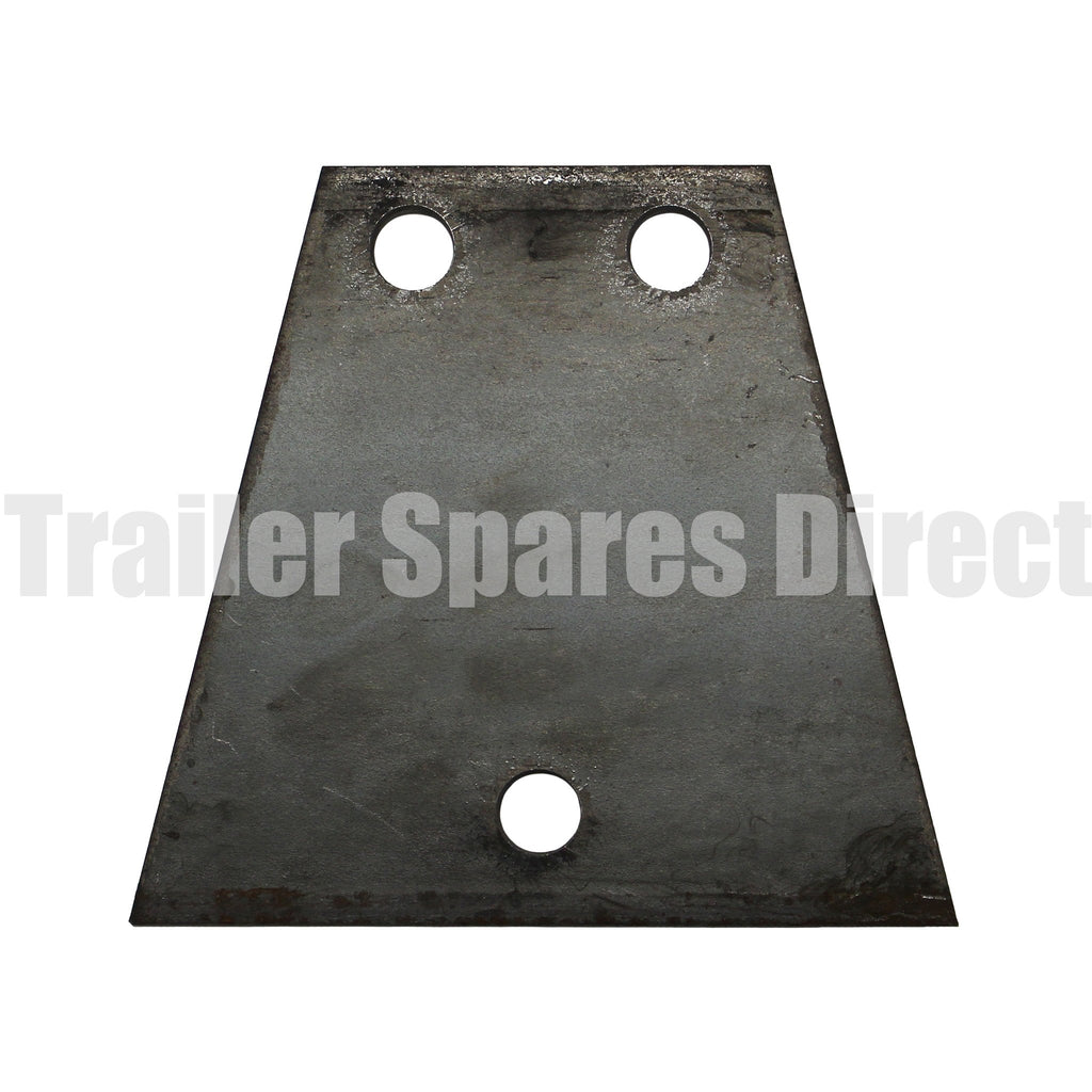 V shape coupling base plate 3 hole