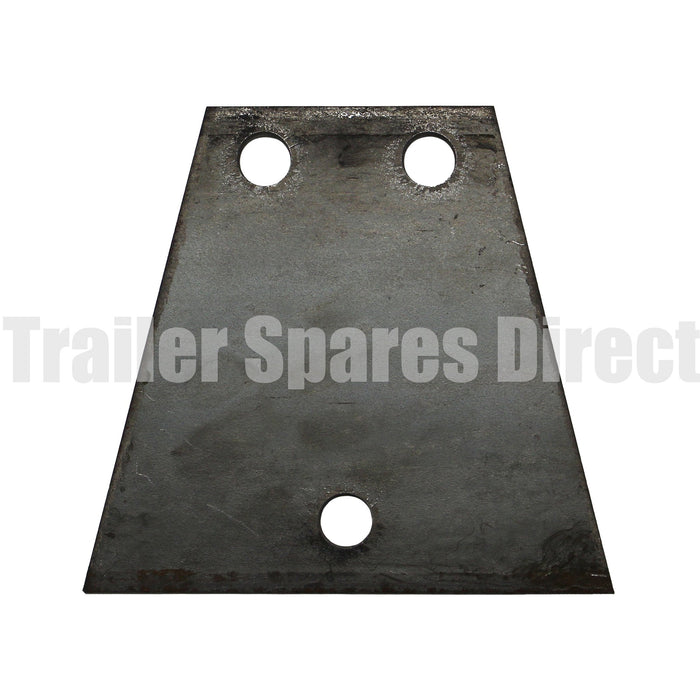 V shape coupling base plate with 3 holes for A150-3