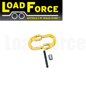 10mm trailer chain connector rated 3150kg